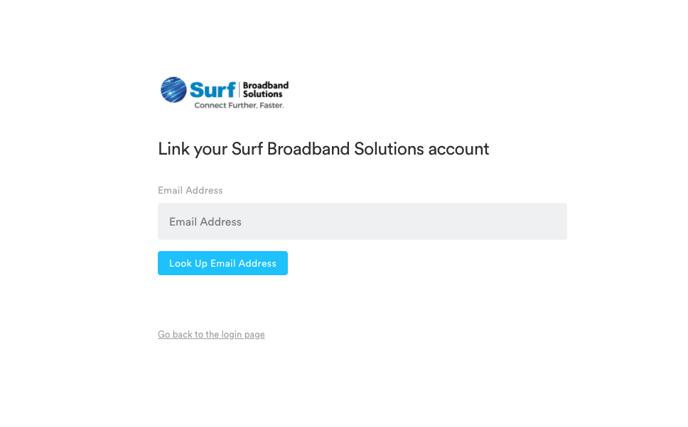 Surf Portal Registration
